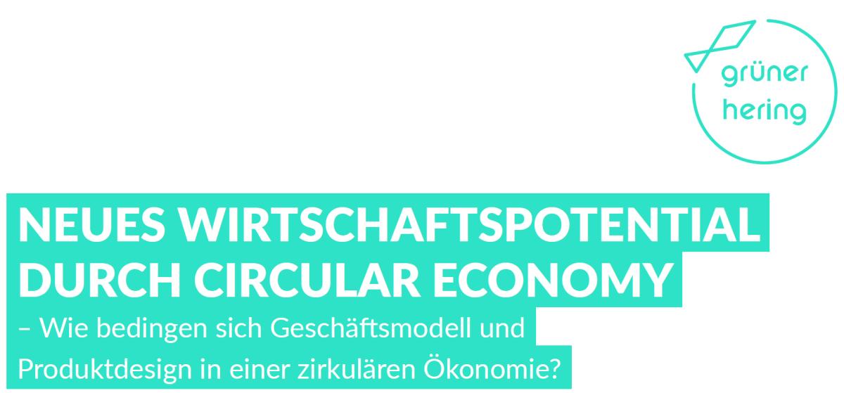 5th Hamburg Workshop – Neues Wirtschaftspotential durch die Circular Economy (July 28, 2017, inGerman)